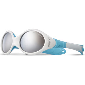 Julbo Looping I Spectron 4 Sunglasses 0-18M Kids, white/blue-gray flash silver